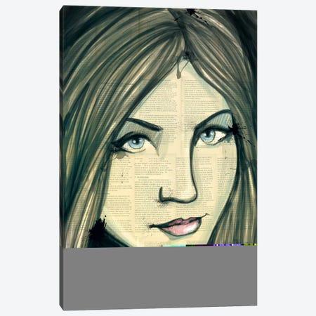 Wistful Grunge Canvas Print #ICA15} by Unknown Artist Canvas Print