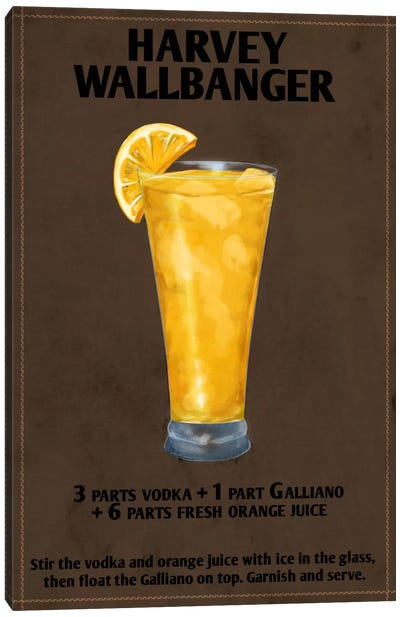 How To Harvey Wallbanger Canvas Art Print
