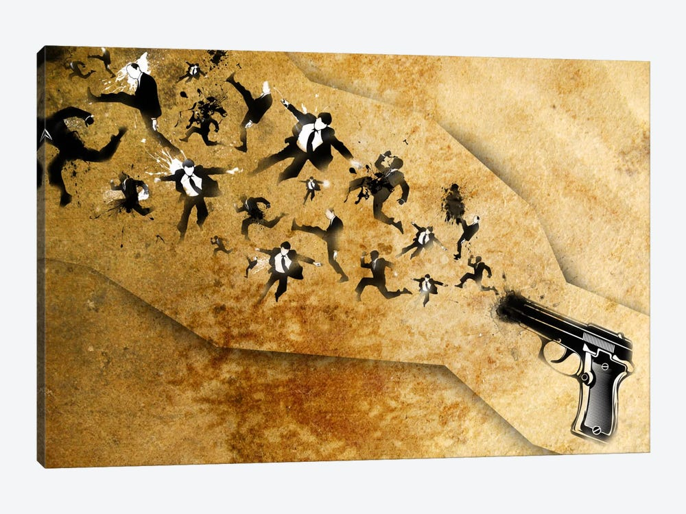 End of the Gun by Unknown Artist 1-piece Canvas Artwork