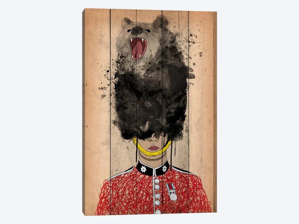Palace Guard by Unknown Artist 1-piece Canvas Art