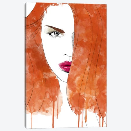 Seductive Red Canvas Print #ICA191} by Unknown Artist Canvas Wall Art