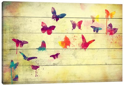 Flutter Away by iCanvas Canvas Print