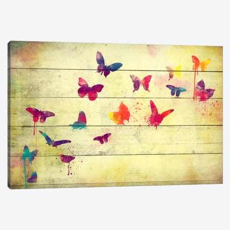 Flutter Away Canvas Print #ICA194} by Unknown Artist Canvas Print