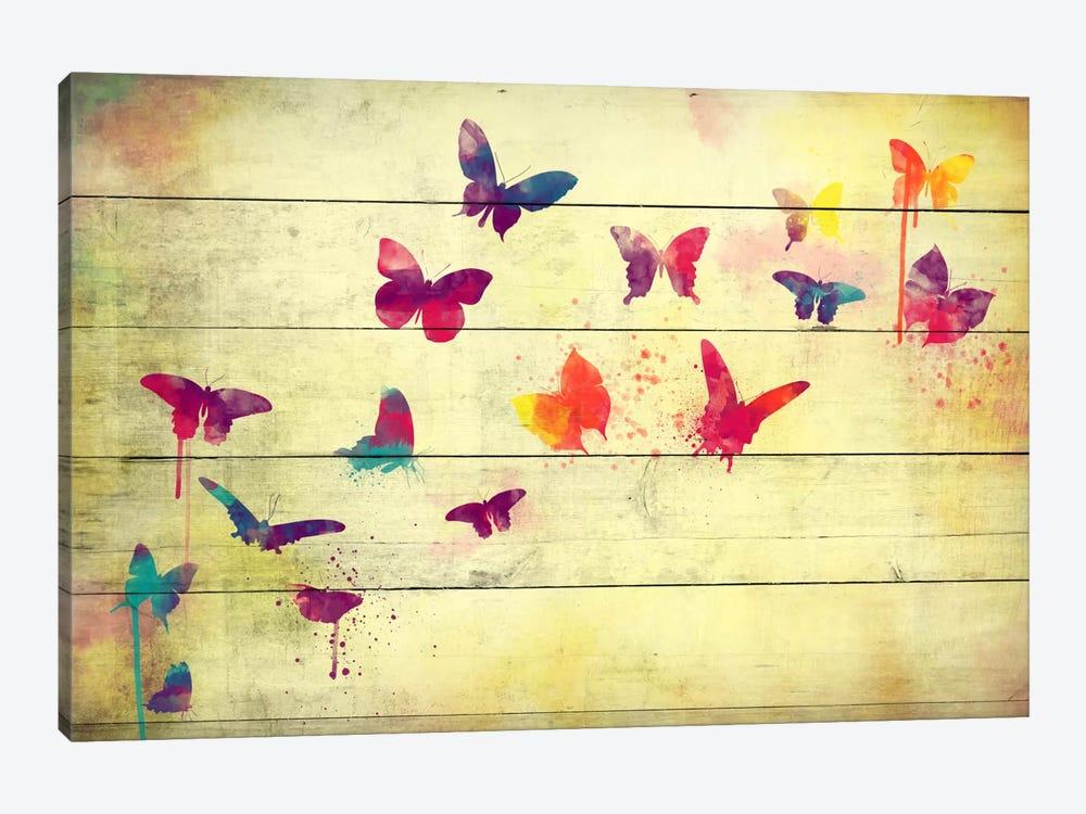 Flutter Away by Unknown Artist 1-piece Canvas Wall Art