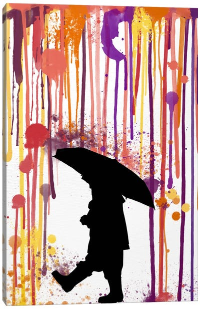 Don't Rain on Me Canvas Art Print