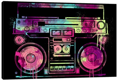 Speakerbox Canvas Art Print