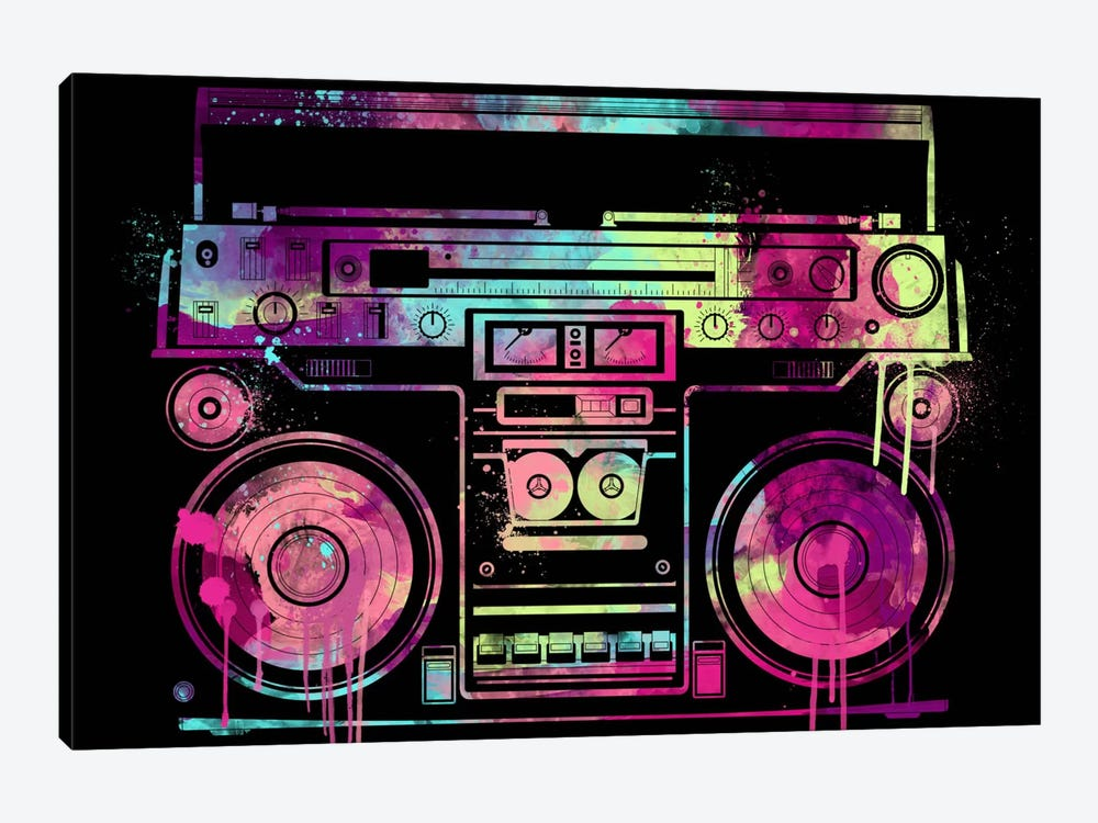 Speakerbox by iCanvas 1-piece Canvas Art