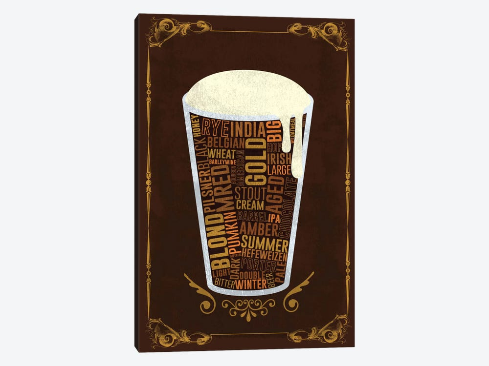 Your Beer, Your Way by Unknown Artist 1-piece Canvas Art Print