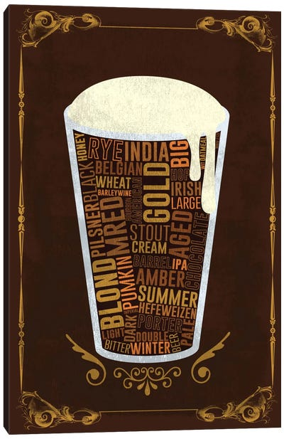 Your Beer, Your Way Canvas Art Print