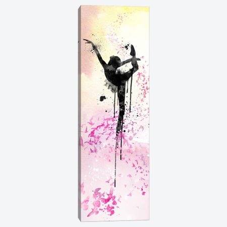 Floating Ballet Dance Canvas Print #ICA206} by Unknown Artist Canvas Art Print