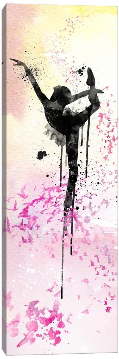 Floating Ballet Dance Canvas Art Print