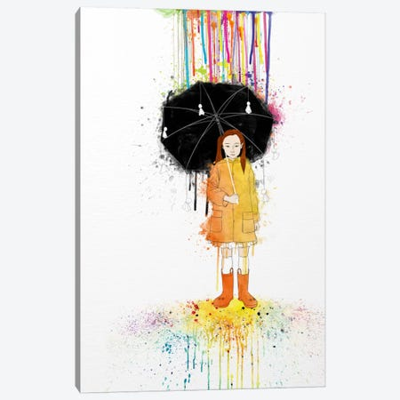Don't Rain on Me 2 Canvas Print #ICA207} by Unknown Artist Art Print