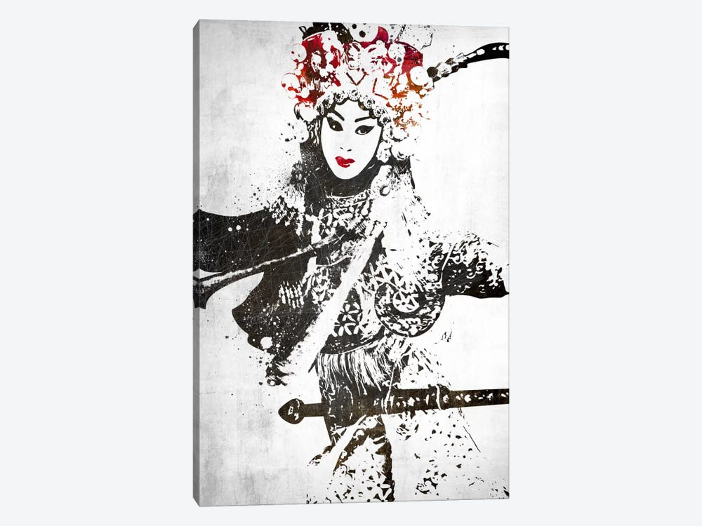 Traditional Warrior by Unknown Artist 1-piece Canvas Wall Art
