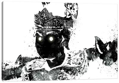 Traditional Warrior 2 Canvas Print #ICA210