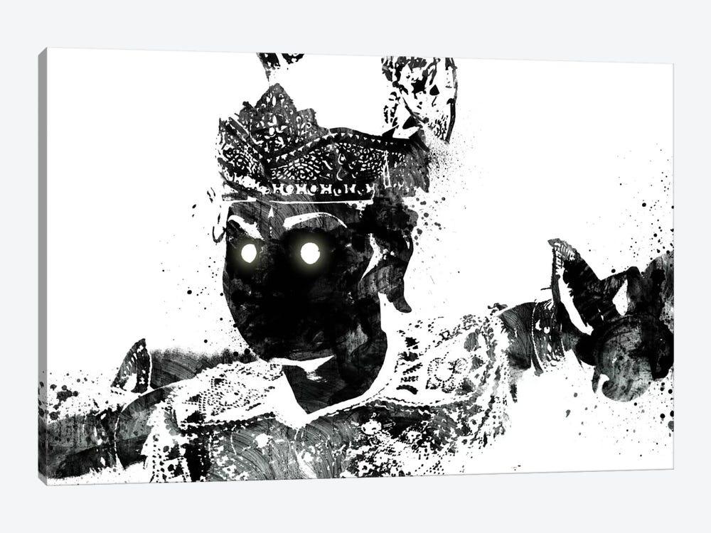 Traditional Warrior 2 by Unknown Artist 1-piece Canvas Art