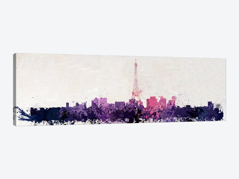 Paris Watercolor by iCanvas 1-piece Art Print