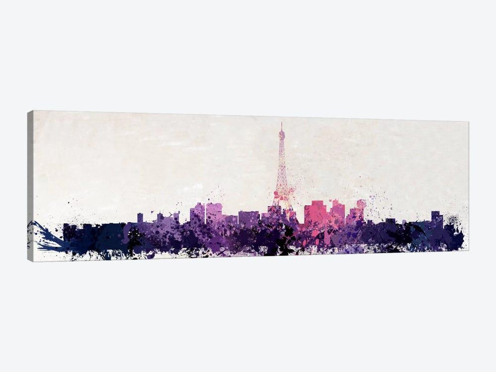 Paris Watercolor by Unknown Artist 1-piece Art Print