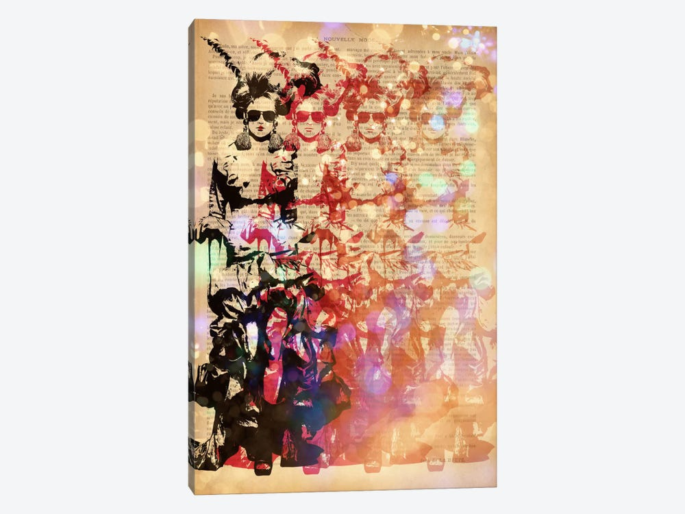 Victorian Fashionista by 5by5collective 1-piece Canvas Print