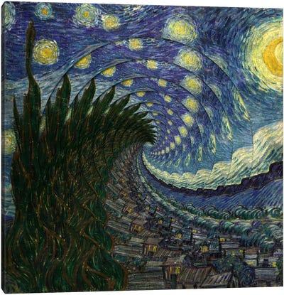 Swirl Night Canvas Print #ICA218