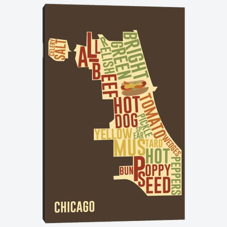 Chicago Style Canvas Print #ICA221} by Unknown Artist Canvas Wall Art