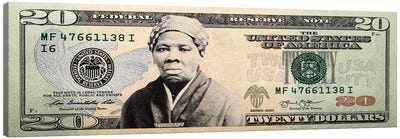 Harriet Tubman Twenty Canvas Art Print
