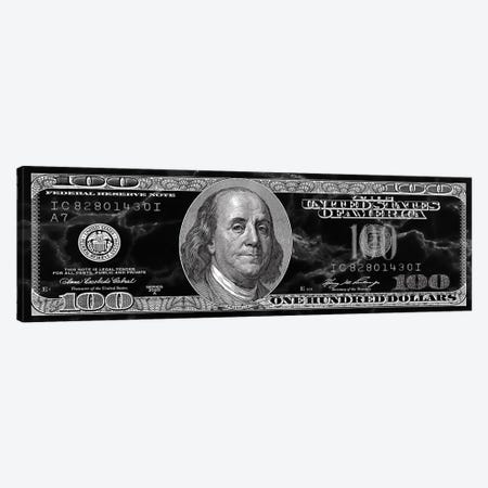 Hundred Dollar Bill - Marble Canvas Print #ICA2225} by 5by5collective Canvas Art