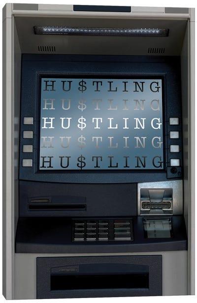 Hustle ATM Canvas Art Print