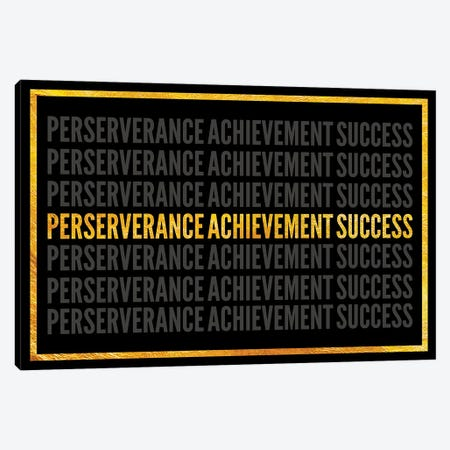 Perserverance - Achievement - Success I Canvas Print #ICA2234} by 5by5collective Canvas Art Print
