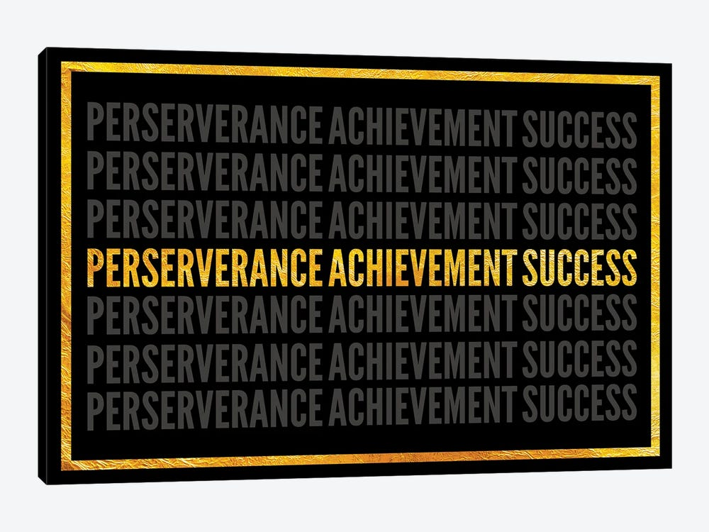 Perserverance - Achievement - Success I by 5by5collective 1-piece Art Print