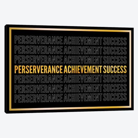 Perserverance - Achievement - Success II Canvas Print #ICA2235} by 5by5collective Art Print
