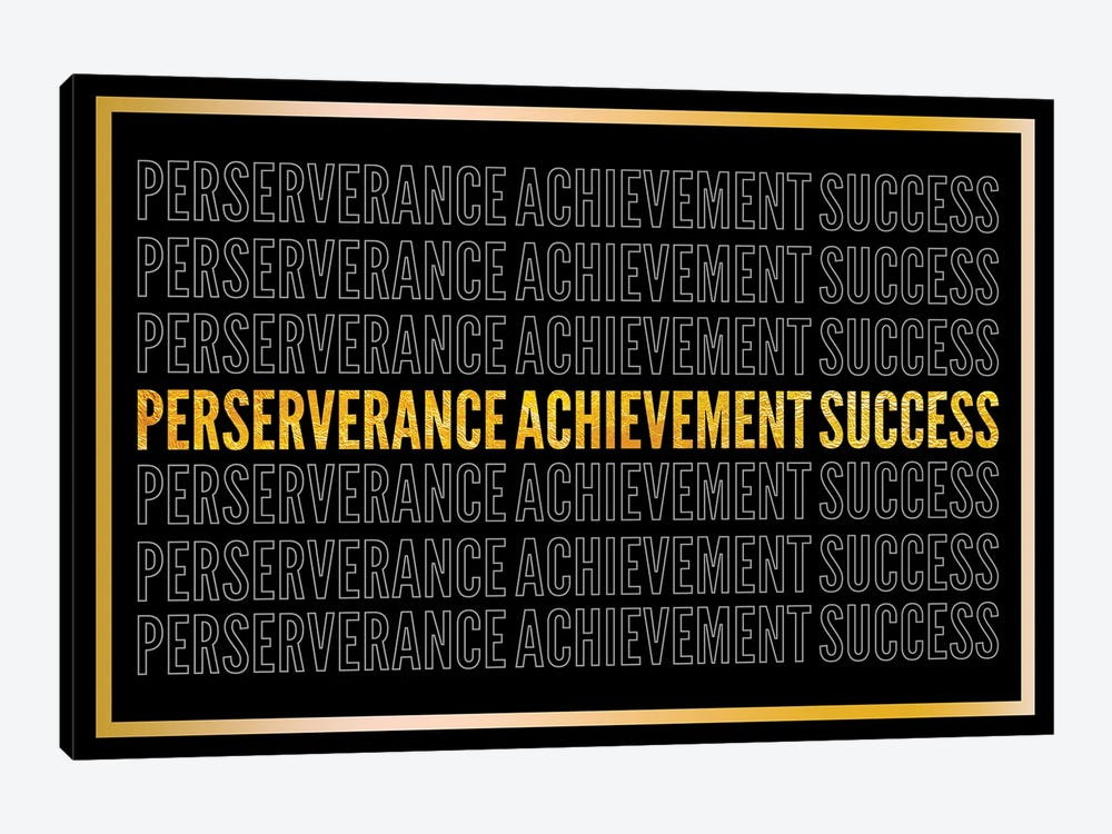 Perserverance - Achievement - Success II by 5by5collective 1-piece Canvas Artwork