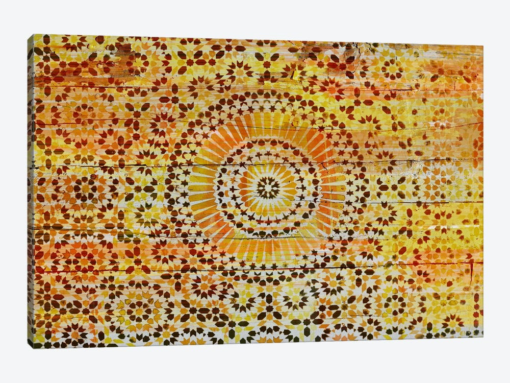 Indian Wood Pattern 2 by Unknown Artist 1-piece Canvas Wall Art