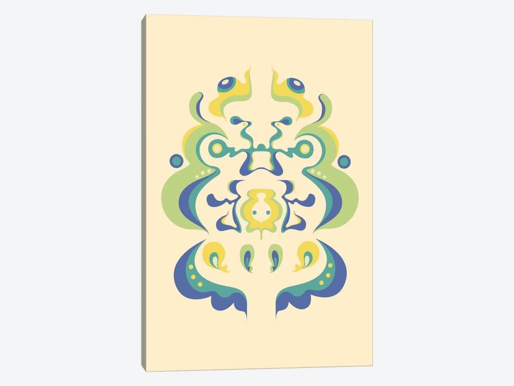 Color Rorschach 2 by Unknown Artist 1-piece Canvas Art Print
