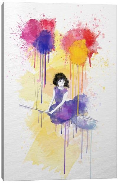 Fly Free Canvas Art Print