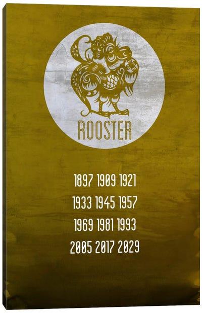 Rooster Zodiac Canvas Art Print