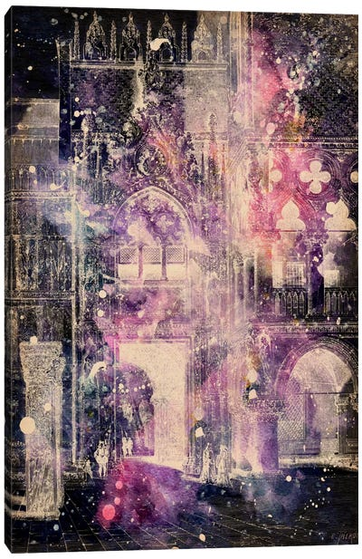 Galaxy Cathedral Canvas Print #ICA248