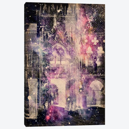 Galaxy Cathedral Canvas Print #ICA248} by Unknown Artist Canvas Artwork
