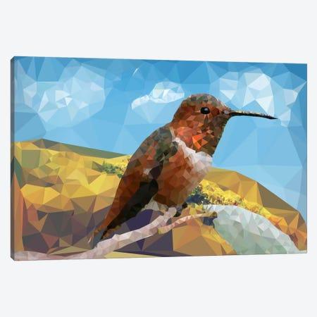 Bird Prizm Canvas Print #ICA250} by Unknown Artist Art Print