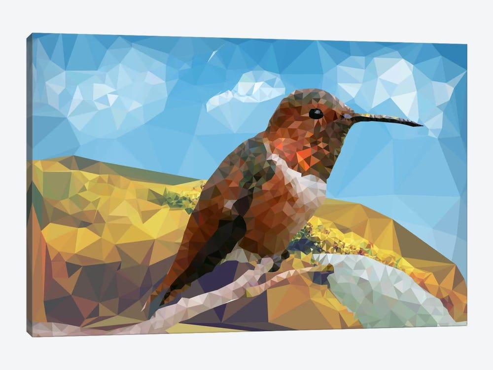 Bird Prizm by Unknown Artist 1-piece Canvas Art
