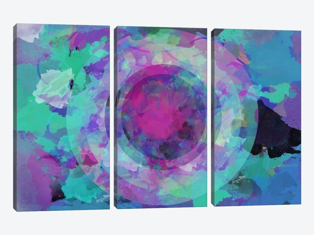 Dilated by iCanvas 3-piece Canvas Wall Art
