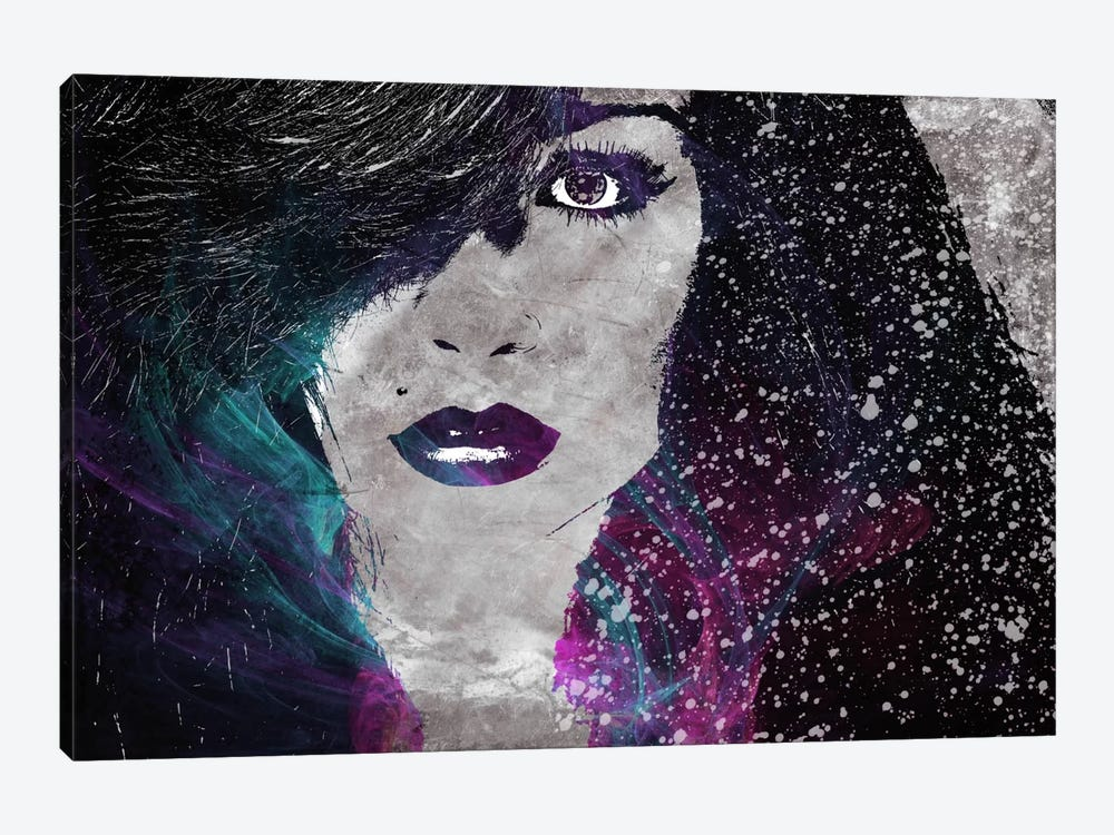 Midnight Girl 2 by iCanvas 1-piece Canvas Print