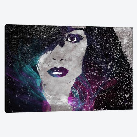 Midnight Girl 2 Canvas Print #ICA266} by Unknown Artist Canvas Print
