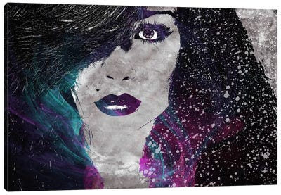 Midnight Girl 2 Canvas Art Print