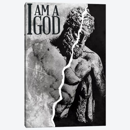 I Am a God Canvas Print #ICA267} by Unknown Artist Canvas Art Print