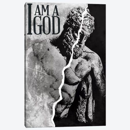 I Am a God Canvas Print #ICA267} by Unknown Artist Canvas Art Print
