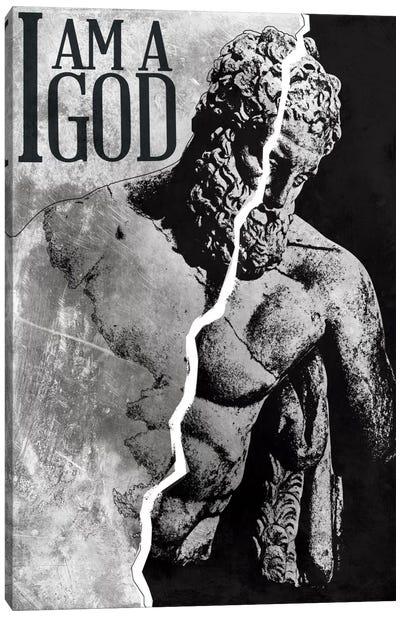I Am a God Canvas Art Print
