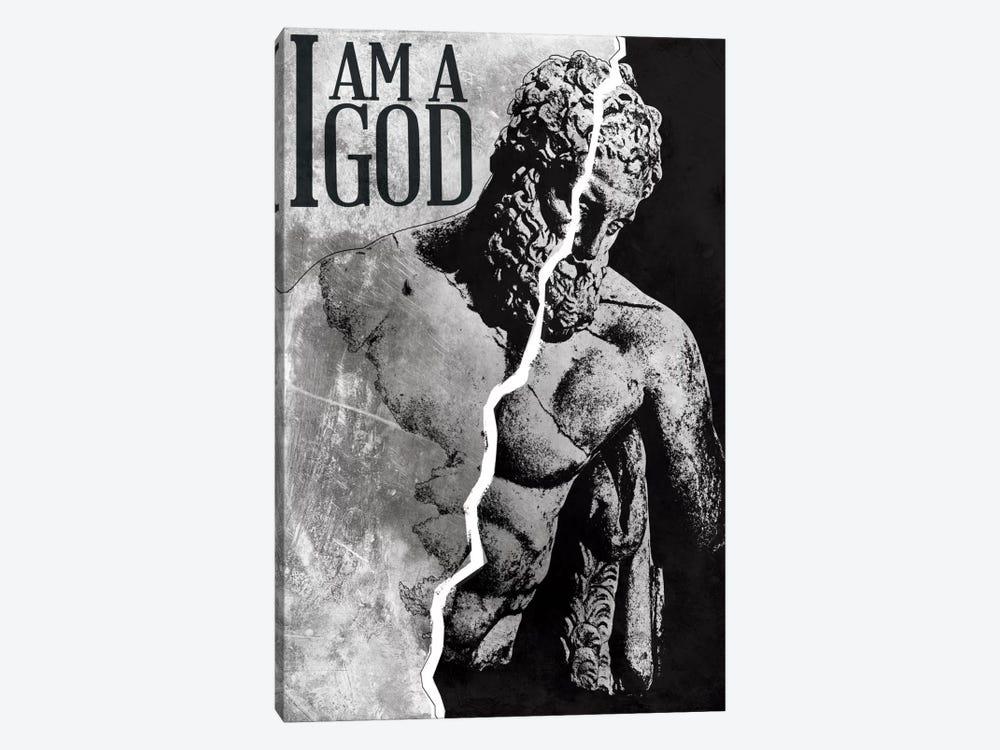 I Am a God by Unknown Artist 1-piece Canvas Artwork