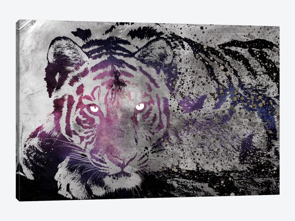 Dusk Tiger by Unknown Artist 1-piece Canvas Print