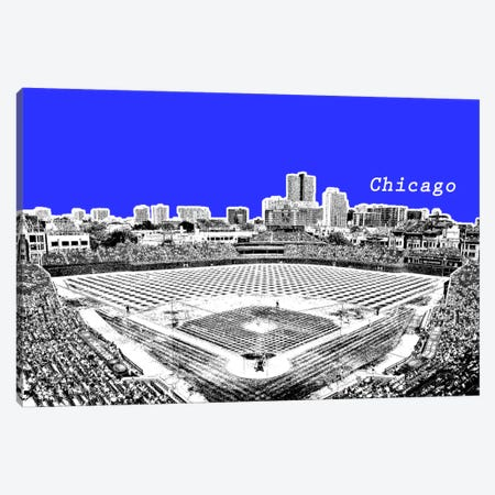 Chicago's Friendly Confines Canvas Print #ICA272} by Unknown Artist Art Print