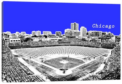Chicago's Friendly Confines Canvas Art Print